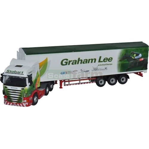 Scania Highline - Stobart (Graham Lee) (Oxford 76SHL10WF)