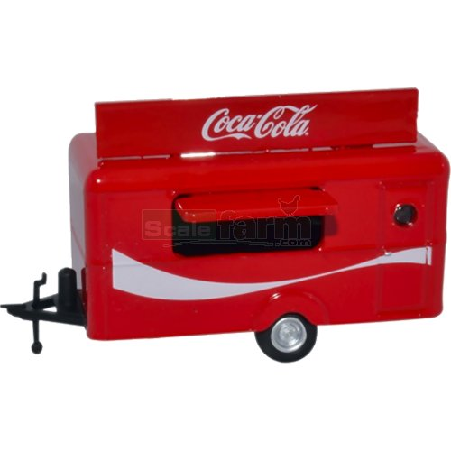 Mobile Trailer - Coca Cola (Oxford 76TR015CC)