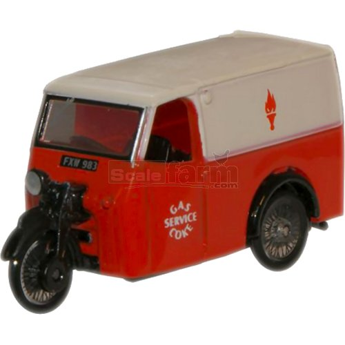 Tricycle Van - Gas and Coke Service (Oxford 76TV004)