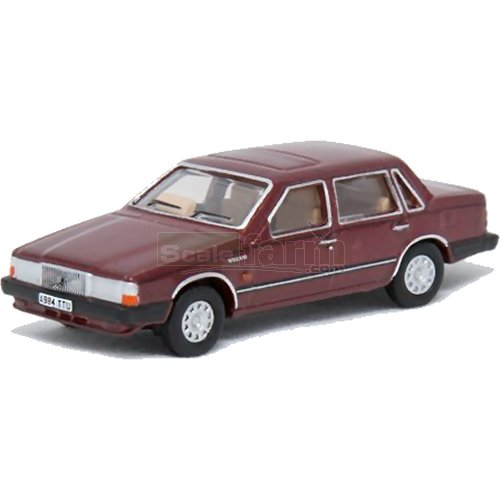 Volvo 760 - Red Wood Metallic (Oxford 76VO002)