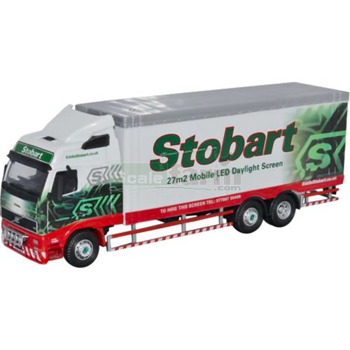 Volvo FH12 - Eddie Stobart LED Teletubby (Oxford 76VOL01LED)