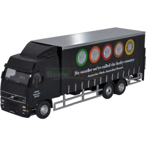 Volvo FH 6 Wheel Curtainside - Coopers Brewery (Oxford 76VOL03CL)
