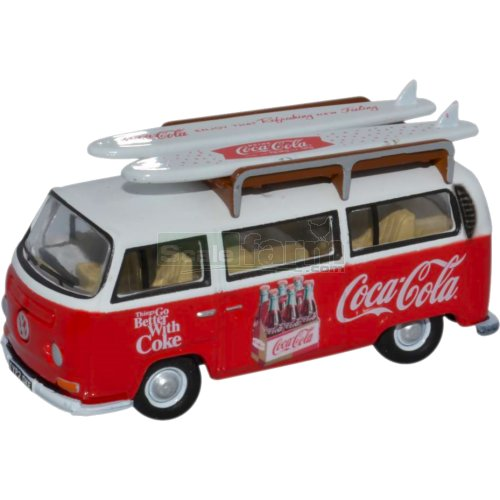 VW T2 Bay Window - Coca Cola (Oxford 76VW030CC)