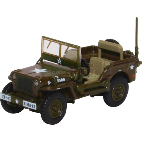 Willys MB - US Army (Oxford 76WMB003)