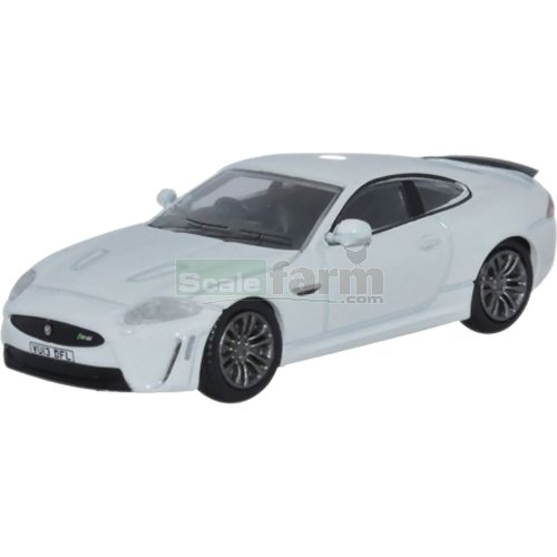 Jaguar XKR-S 2 Door Coupe - Polaris White (Oxford 76XKR003)