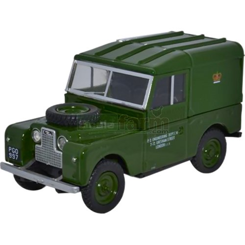 "Land Rover Series I 88"" Hard Top - PO Telephone Green (Oxford LAN188006)"