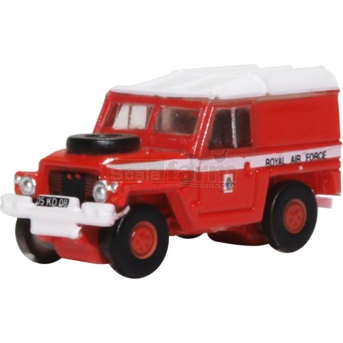 Land Rover Lightweight - RAF Red Arrows (Oxford NLRL003)