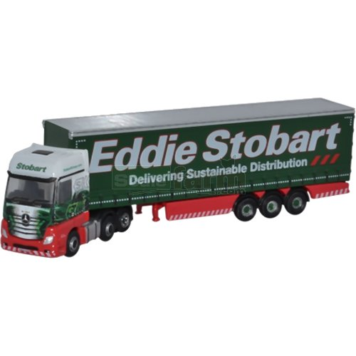 Mercedes Actros Curtainside - Eddie Stobart (Oxford NMB001)