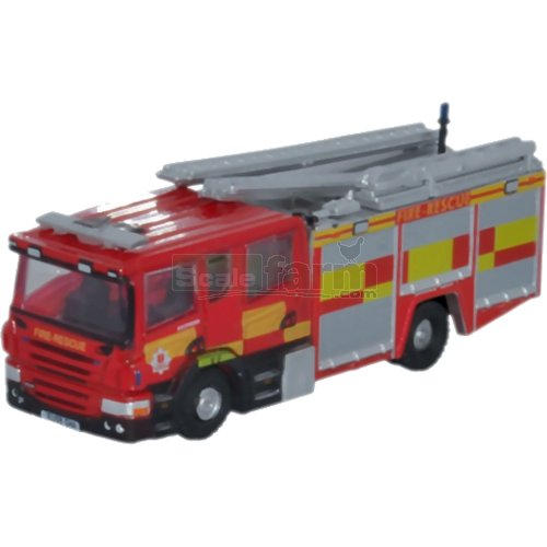 Scania Pump Ladder - Essex County Fire & Rescue (Oxford NSFE005)