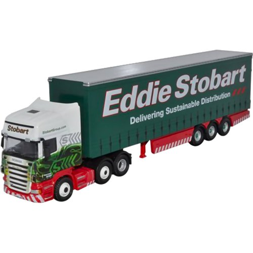 Scania Topline Curtainside - Eddie Stobart (Oxford STOB002)