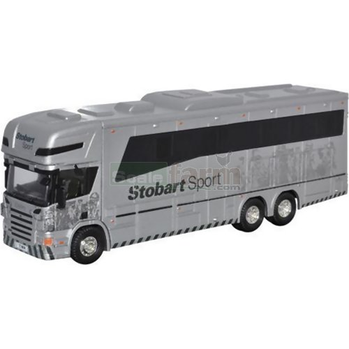 Scania P380 / Oakley Horsebox - Eddie Stobart (Oxford STOB011)