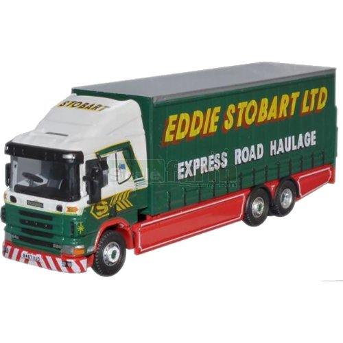 Scania 94 6Wh Curtainside - Eddie Stobart (Oxford STOB012)