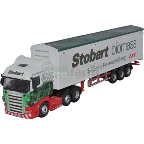 Scania Walking Floor - Eddie Stobart (Oxford STOB015)