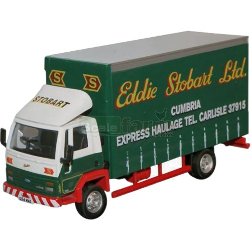 Ford Cargo F210 Curtainside - Eddie Stobart (Oxford STOB016)