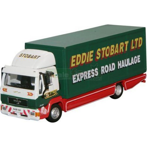 MAN L2000 Box Van - Eddie Stobart (Oxford STOB018)