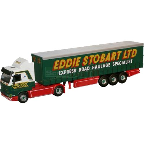 Scania 143 Curtainside - Eddie Stobart (Oxford STOB019)