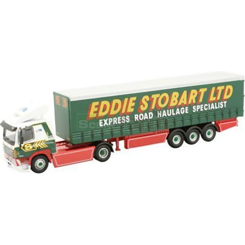 Leyland DAF FT85CF Curtainside - Eddie Stobart (Oxford STOB024)
