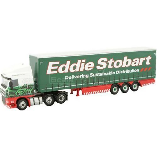 DAF FTGXF105 Curtainside - Eddie Stobart (Oxford STOB025)