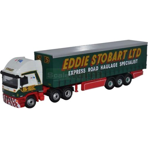ERF EC14 Olympic Curtainside - Eddie Stobart (Oxford STOB031)