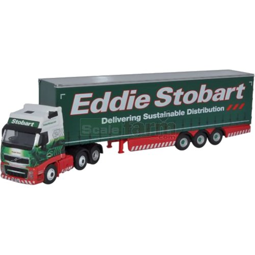 Volvo FH12 Curtainside - Eddie Stobart (Oxford STOB033)