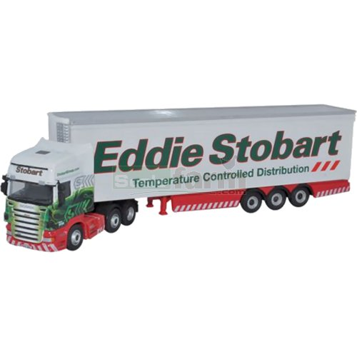 Scania R420 Topline Fridge - Eddie Stobart (Oxford STOB034)