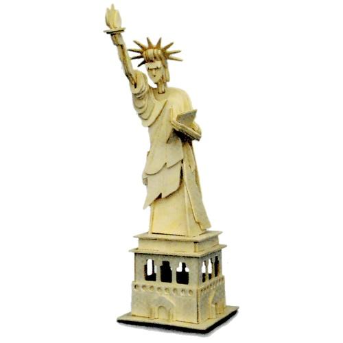 quay p031 statue of liberty woodcraft construction kit