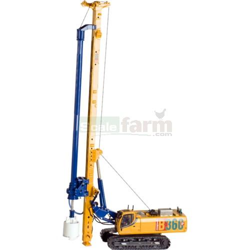 ROS 00211/04 - Casagrande B360 XP Hydraulic Piling Rig - Yellow