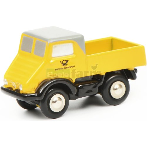 Mercedes Benz Unimog 401 - Deutsche Post (Schuco  05276)