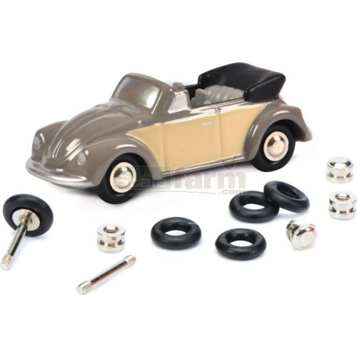 VW Beetle Cabrio Construction Kit (Schuco 05578)