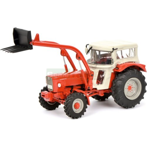 Guldner G60A Tractor with Front Loader and Cab (Schuco  07786)