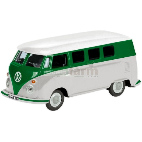 VW T1 Bus - White/Green (Schuco 26104)