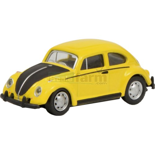 VW Kaefer - Yellow / Black (Schuco 26334)