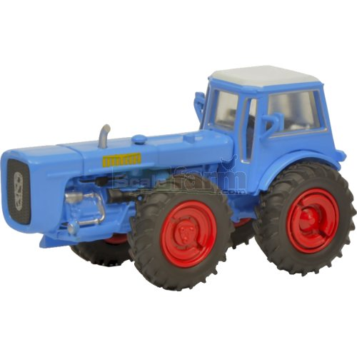 Dutra D4K Tractor with Cab - Blue (Schuco 26412)