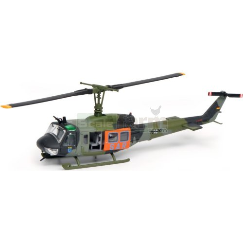 Bell UH 1D SAR Helicopter - Camoflage (Schuco 26432)