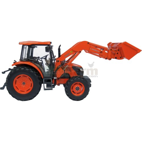 Kubota M9960 Tractor with LA1354 Front Loader (Universal Hobbies 4869)