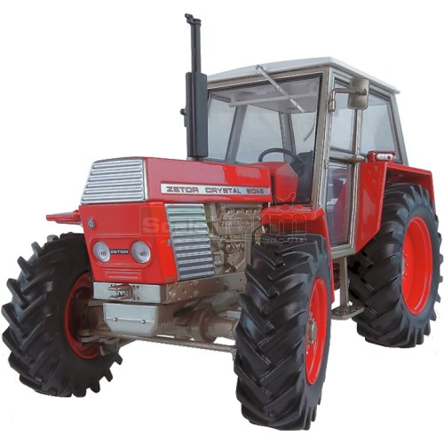 Zetor Crystal 8045 4WD Tractor - Red Version (Universal Hobbies 5272)