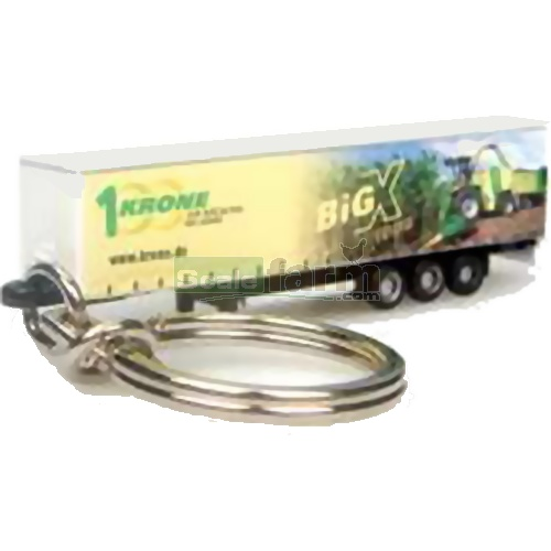 Krone Big X Trailer Keyring (Universal Hobbies 5532)