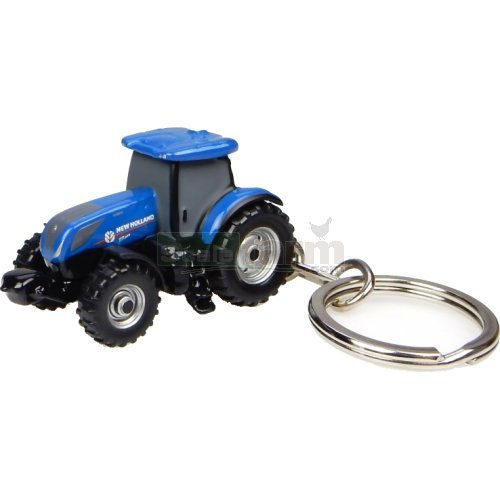 New Holland T7.225 Tractor Keyring (Universal Hobbies 5812)