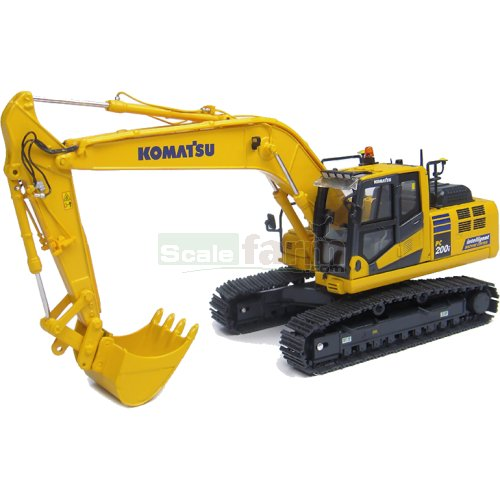 Komatsu PC200i-10 Tracked Excavator 'Intelligent Machine Control' Japanese Edition (Universal Hobbies 8107)