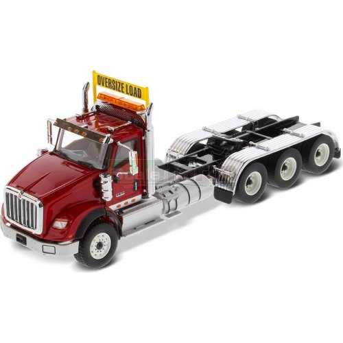 International HX620 Tridem Truck (Red) (Diecast Masters 71008)