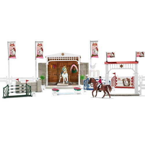 Big Horse Show with Horses, Riders and Accessories (Schleich 42338)